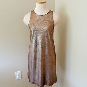 Maddie Bea Small Dripping Gold Dress Shift